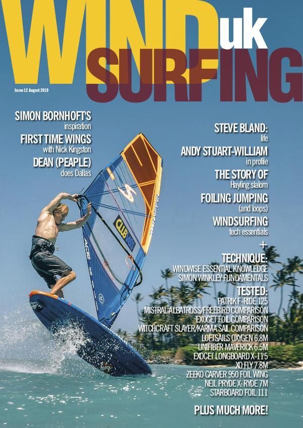 WindsurfingUK issue 12 August 2019