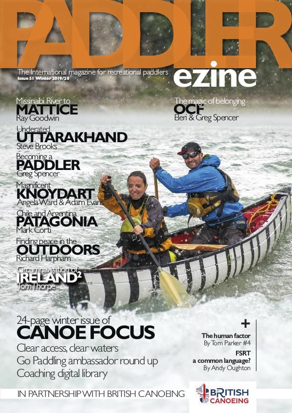 The Paddler ezine Issue 51 Winter 2020