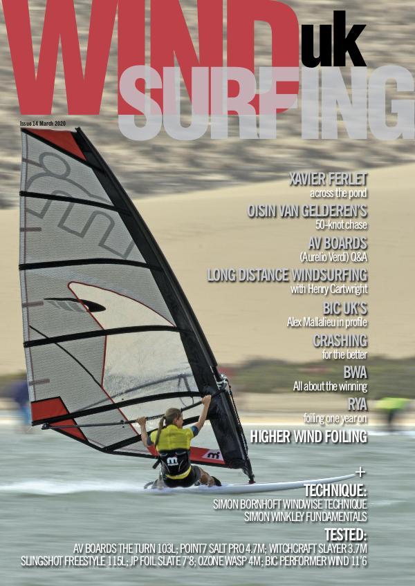 WindsurfingUK issue 14 March 2020