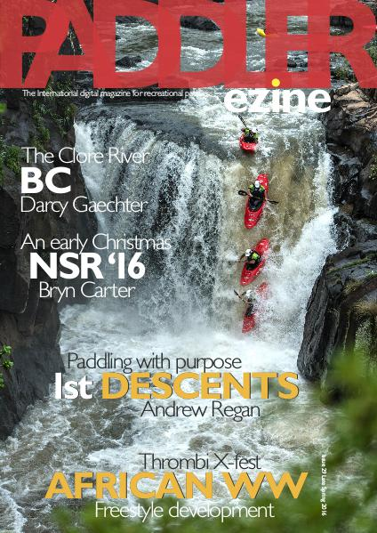 Issue 29 Late Spring 2016 Kayak cover