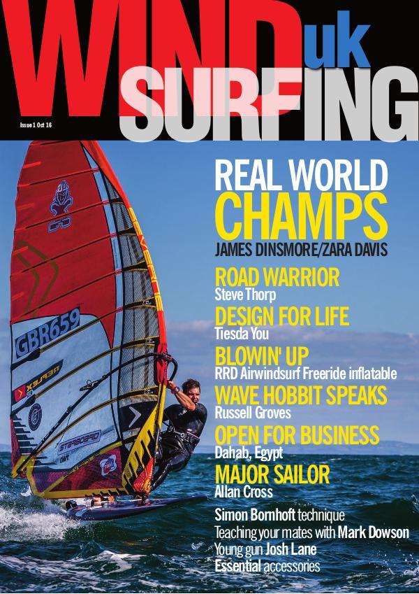WindsurfingUK Issue 1