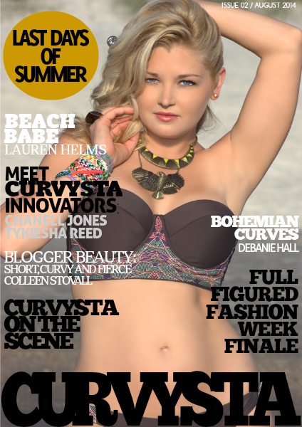 CURVYSTA MAGAZINE AUGUST 2014