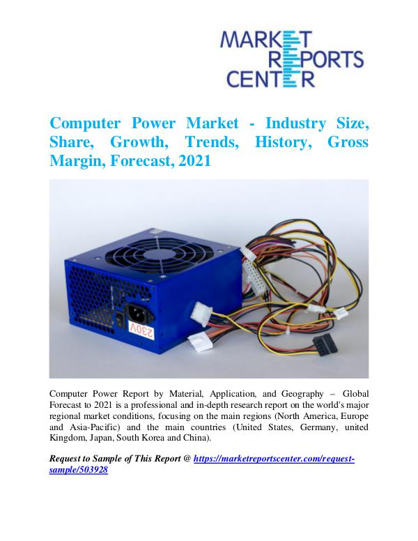 Market Research Reports Computer Power Market