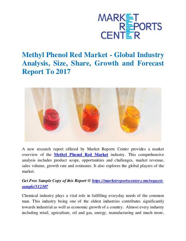 Market Research Reports Methyl Phenol Red Market