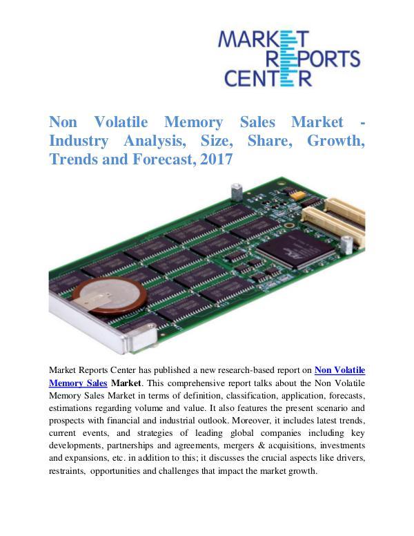 Non Volatile Memory Sales Market
