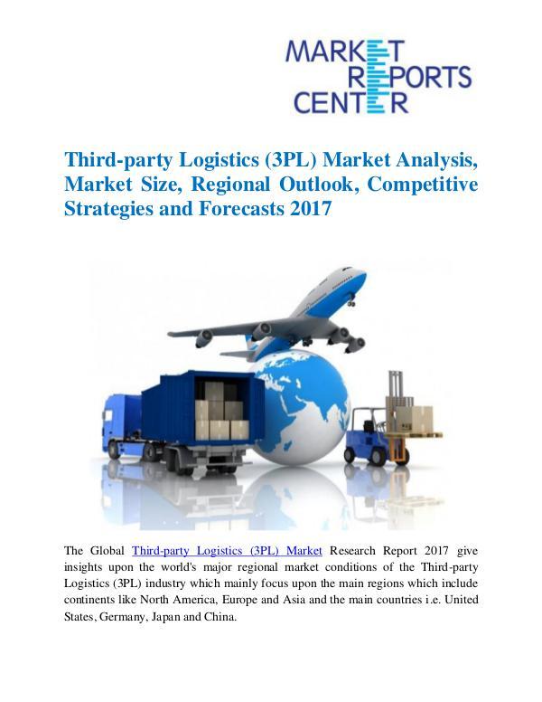 Market Reports Third-party Logistics (3PL) Market