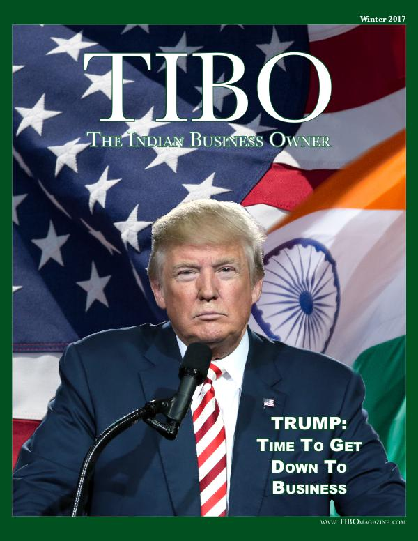 The Indian Business Owner TIBO Magazine - Volume 002