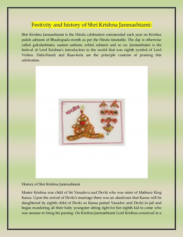 Craftera Multicolour Brass Karwa Chauth Pooja Thali Set Festivity and History of Shri Krishna Janmashtmi
