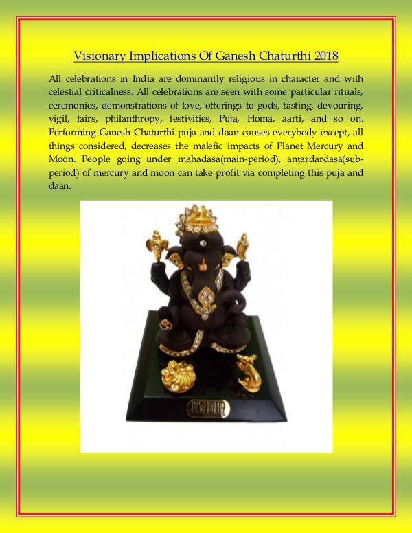 Craftera Multicolour Brass Karwa Chauth Pooja Thali Set Visionary Implications Of Ganesh Chaturthi 2018