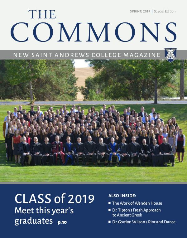 The Commons Spring 2019: Graduation Edition