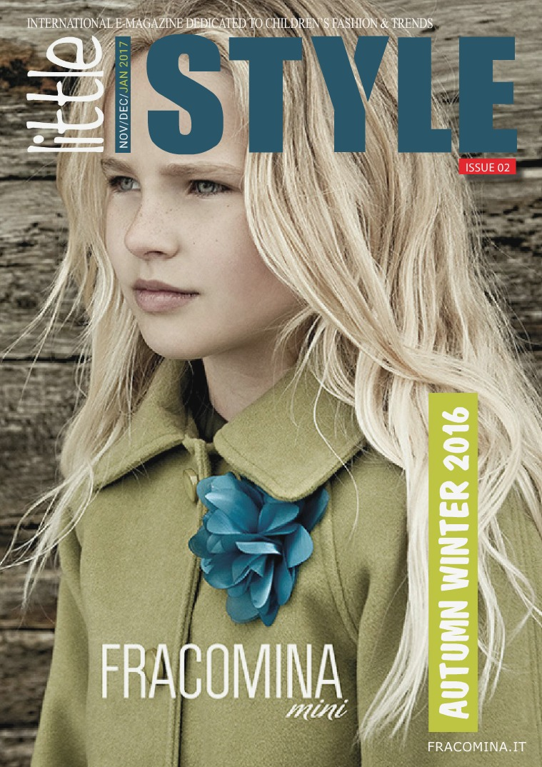 Little Style Magazine Kids Fashion Trends Nov Dec Jan 2017