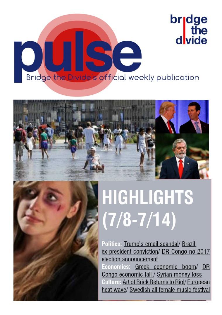 Pulse: 7/8-7/14/2017