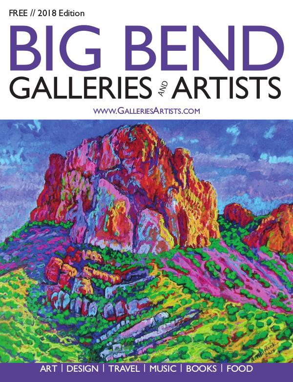 Big Bend Texas Galleries & Artists 2018