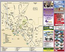 Map of El Paso