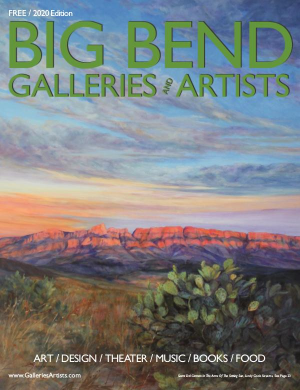 Big Bend Texas Galleries & Artists 2020