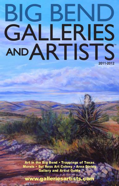 Big Bend Texas Galleries & Artists 2012