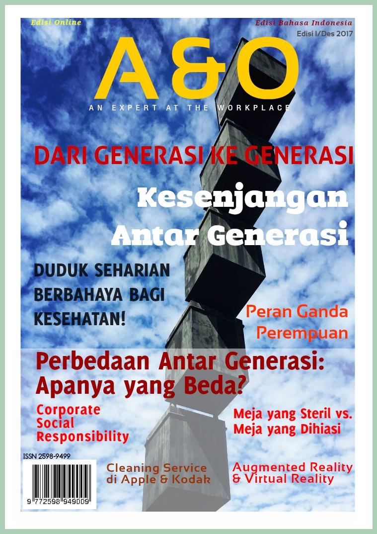 A & O Edisi I Nov 2017 Kesenjangan Antar Generasi