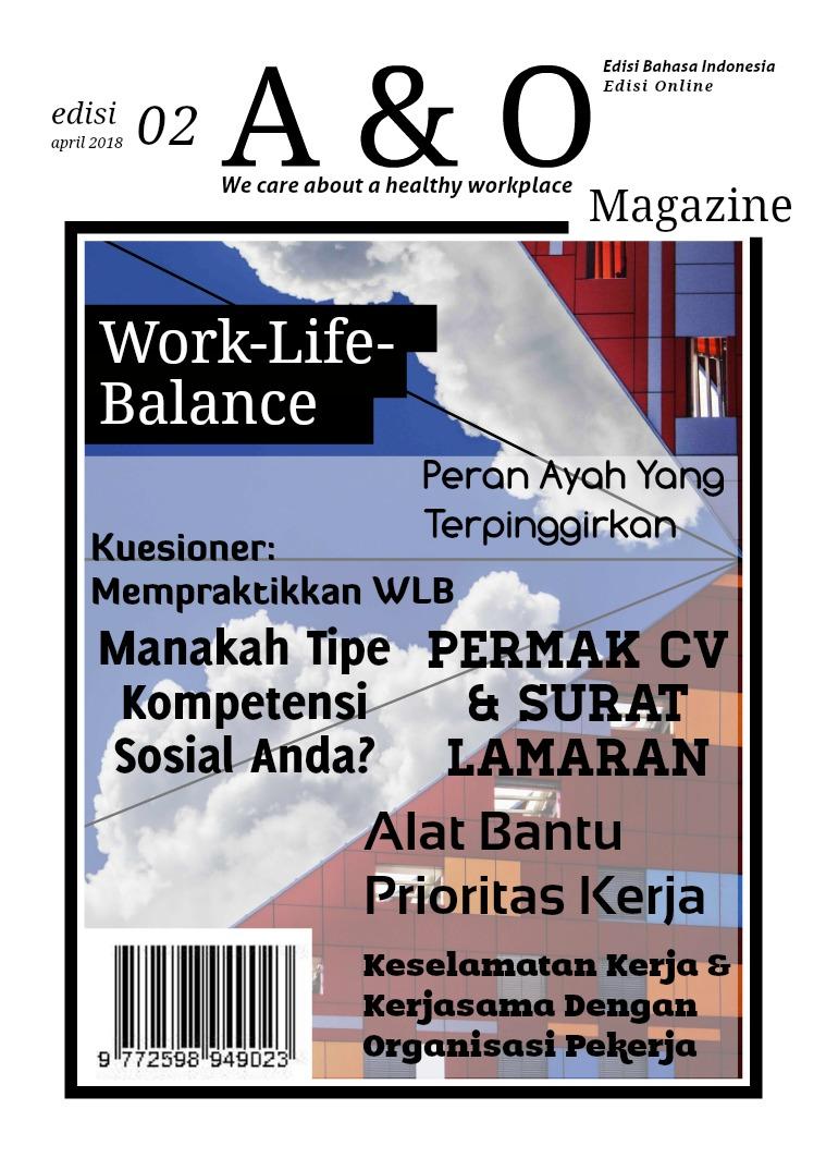 A & O Edisi II Apr 2018 Work-Life-Balance