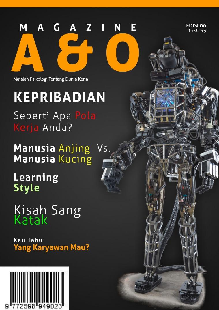 A & O Edisi VI Juni 2019 Kepribadian
