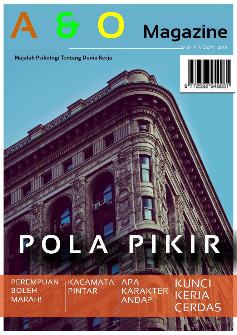 A & O Edisi VII September 2019 Pola Pikir