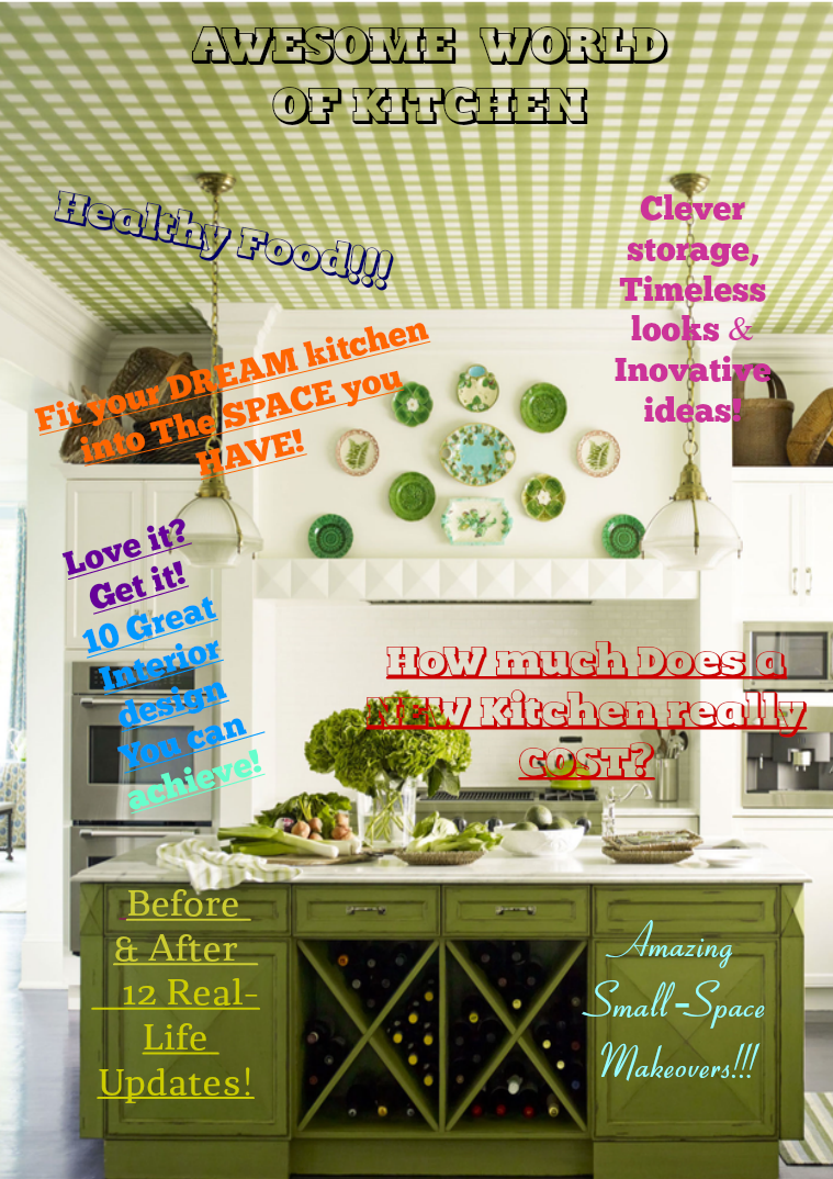 Awesome World of Kitchen kitchen1