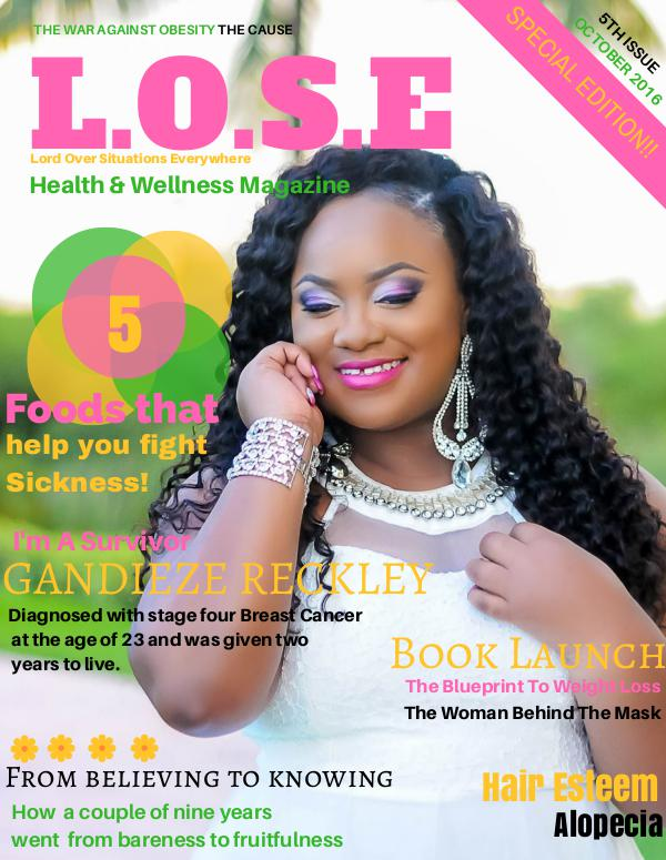 L.O.S.E Health & Wellness Magazine Volume 5