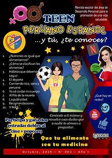 Revista Teen Peruano Español