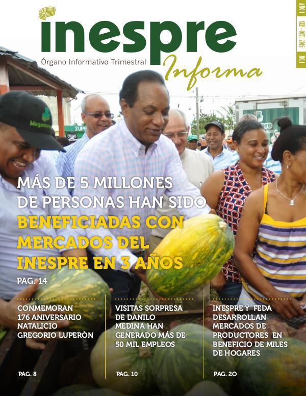 INESPRE Informa Publicación Septiembre - Octubre 2015
