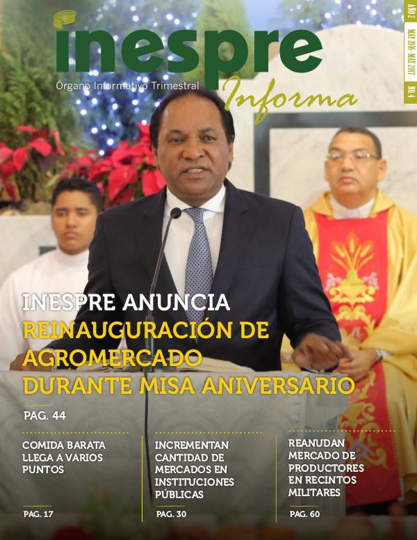 INESPRE Informa Publicación Mayo 2016 - Mayo 2017
