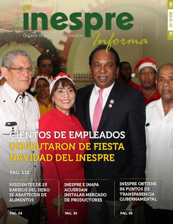 INESPRE Informa Publicación Mayo 2017 - Diciembre 2017