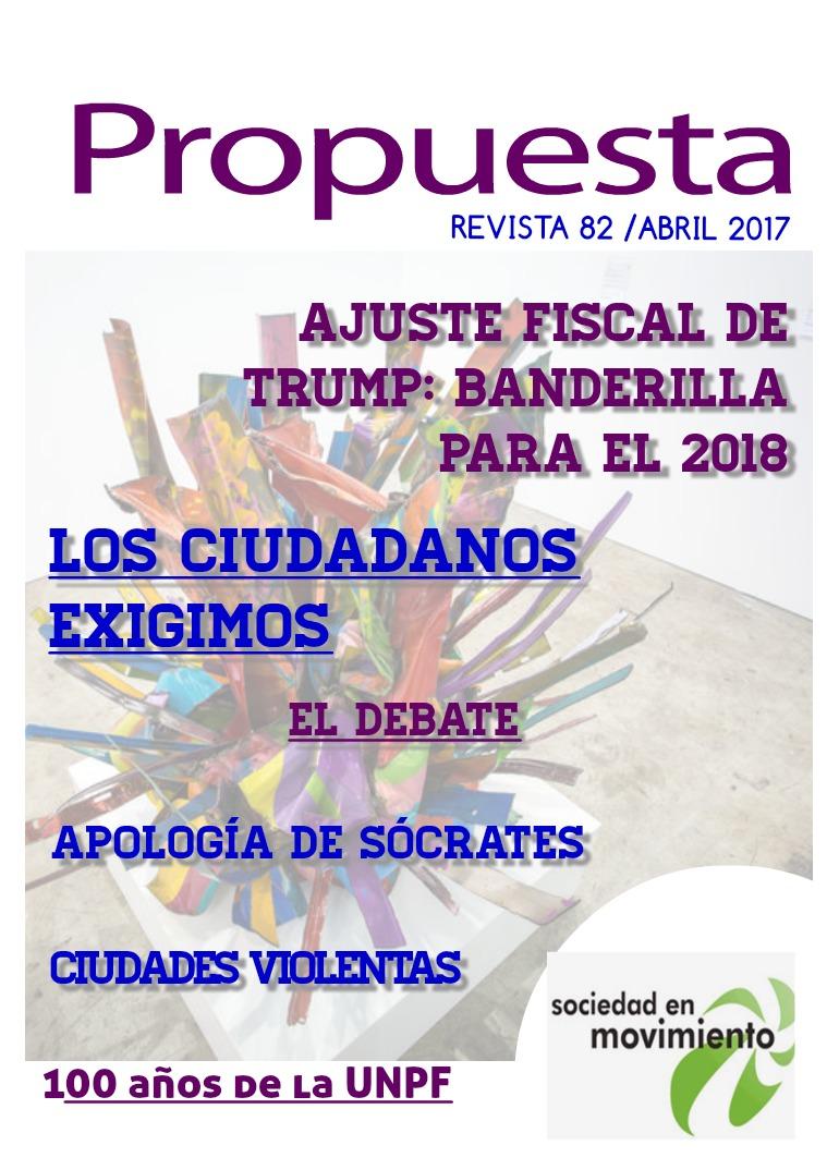 Propuesta 82, abril 2017