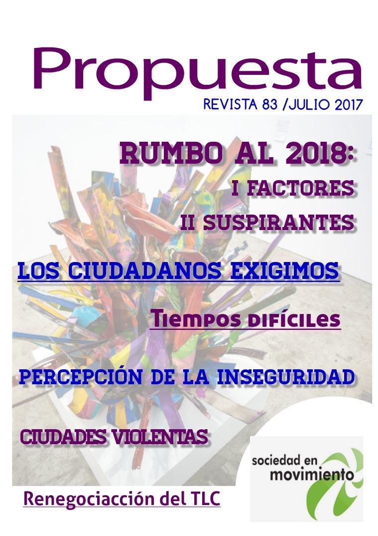 Propuesta 83, julio 2017