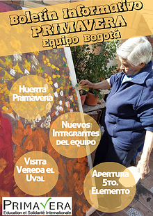 Boletín Informativo - Asociación Primavera E.S.I. Equipo Bogotá