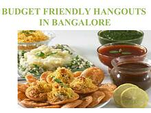 BUDGET FRIENDLY HANGOUTS