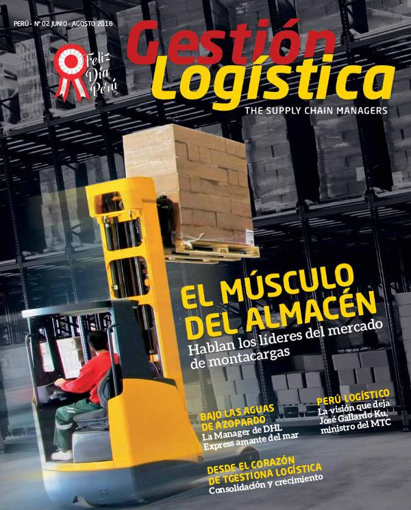 REVISTA GESTION LOGISTICA ED. 02 JUN 2016
