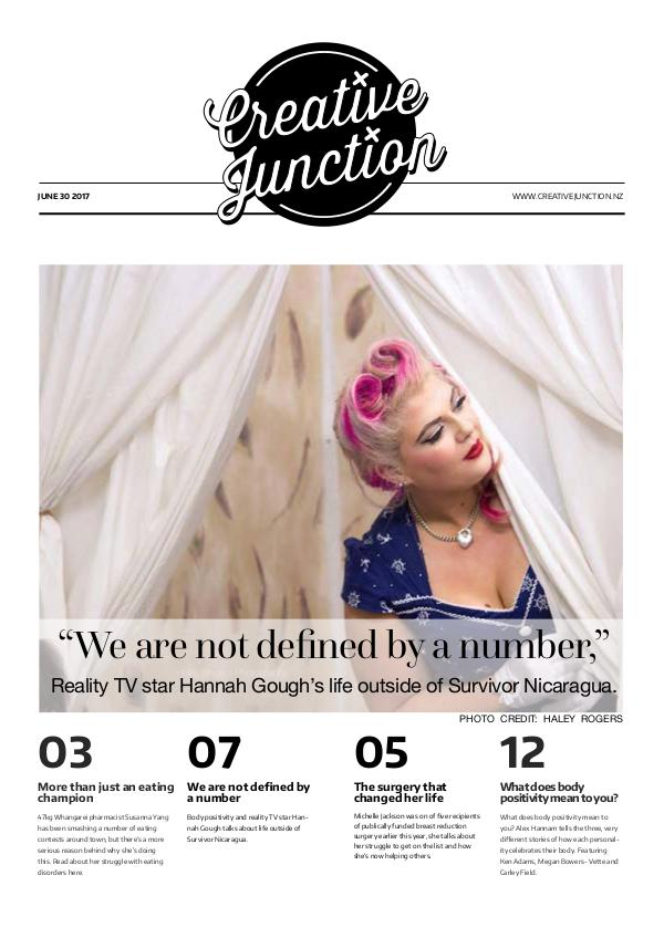 Creative Junction Magazine June 30 2017