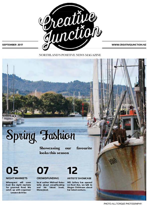 Creative Junction Magazine September