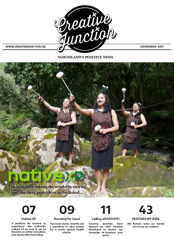 Creative Junction Magazine November 2017