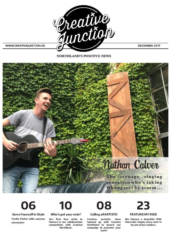 Creative Junction Magazine december online