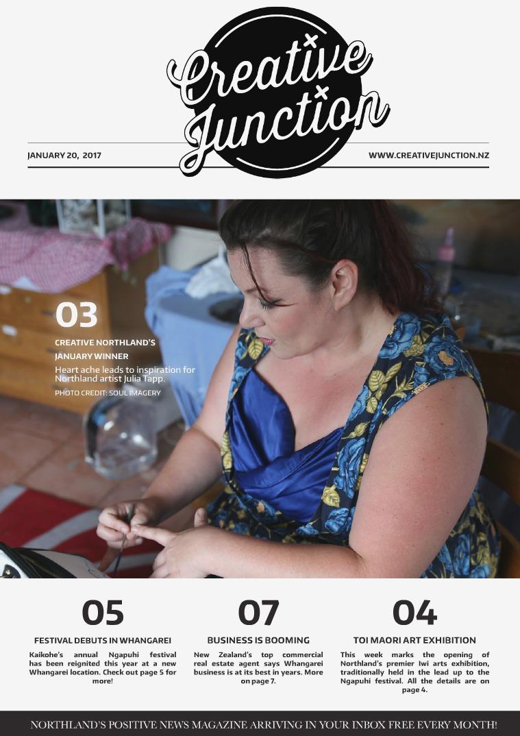 Creative Junction Magazine January 20th