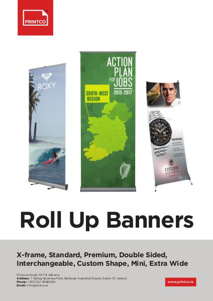 Roll Up Banners Banners 1