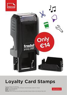 Loyalty Card Stamps