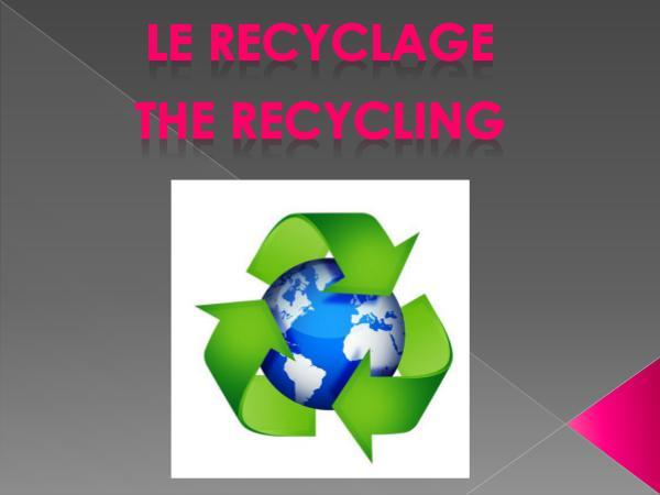 Green jobs reciclaje