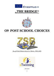 IO 9 POST SCHOOL CHOICES
