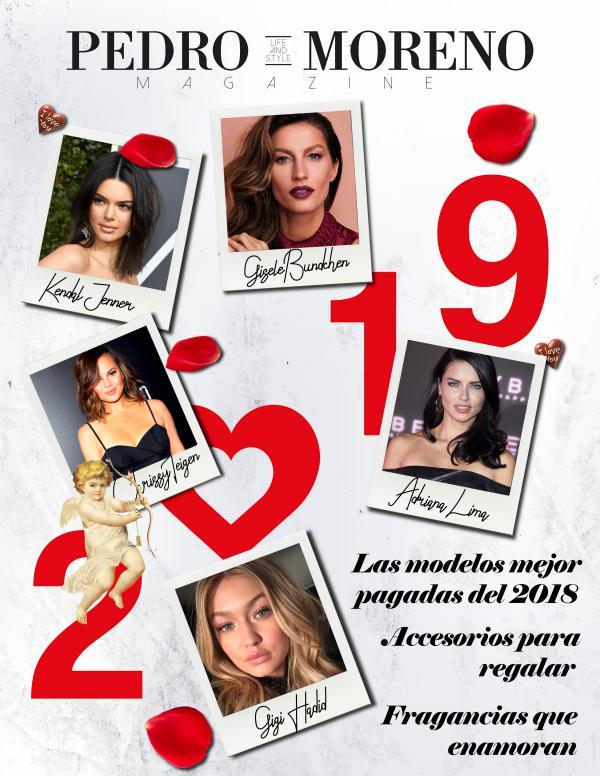 Las Modelos Mejor Pagadas Magazine Enero 2019