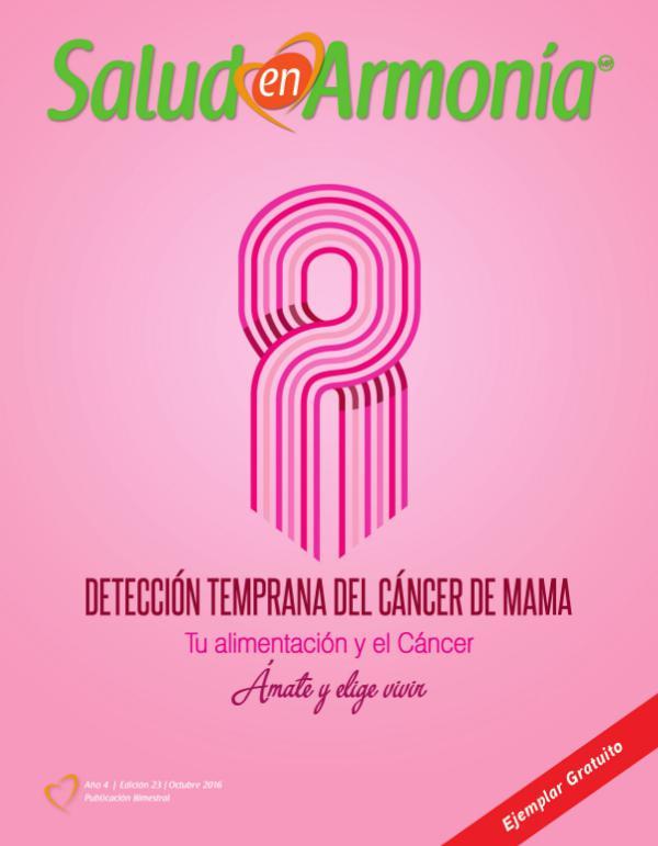 Revista Salud en Armonía Revista Salud en Armonía Edición 23