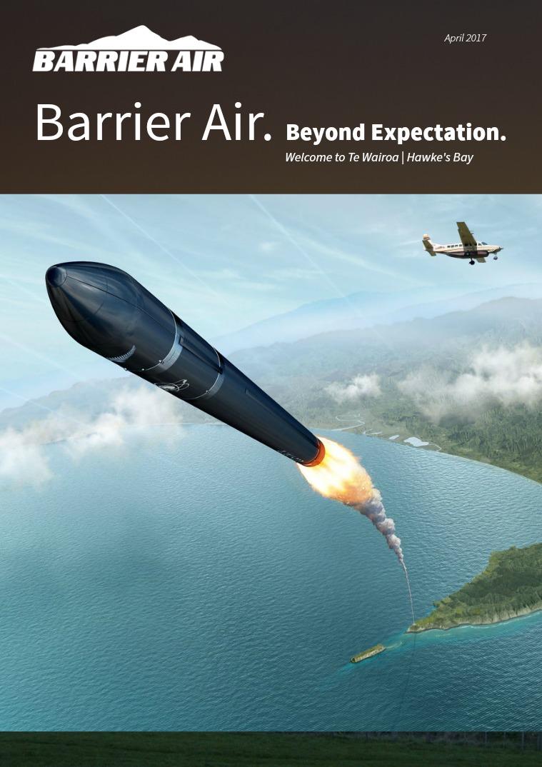 Barrier Air Barrier Air.  Beyond Expectation. April 2017.