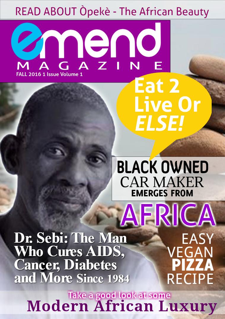 Emend Magazine Issue 1 Volume 1