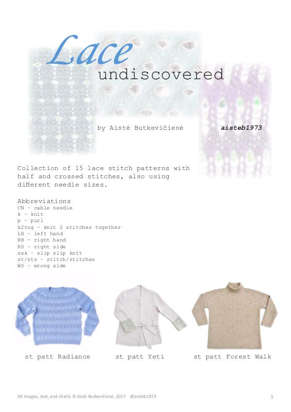 Lace undiscovered (eng)
