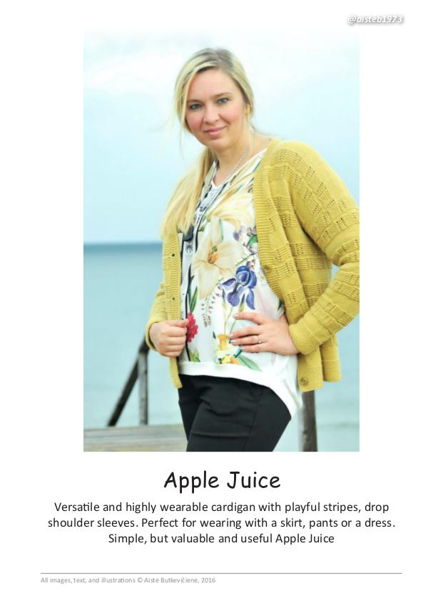Modern Vintage. Knitting Patterns Apple Juice (eng)